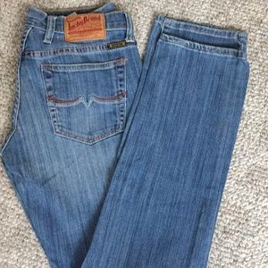 Lucky melrose sweet n' straight 2/26 x 30.5 jeans